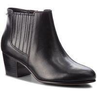 Botki CLARKS - Ceara Tulsa Gtx GORE-TEX 261385344 Black Leather, w 8 rozmiarach