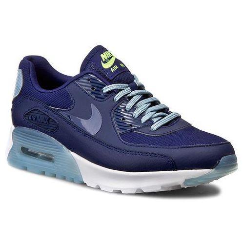 Nike Buty - air max 90 ultra essential 724981 402 lyl bl/lyl bl/bl gry/brght crm
