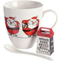 Kaemingk Kubek ze świątecznym motywem Świętego Mikołaja + prezent (8719152809905)