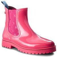 Kalosze TRUSSARDI JEANS - 79A00285 R130, kolor różowy