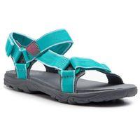 Jack wolfskin Sandały - seven seas 2 sandal g 4029961 d aguamarine