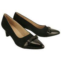 Caprice 22402-26 czarny, czółenka damskie