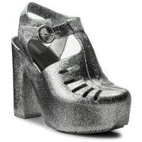 Sandały MELISSA - Aranha 79 16 Heel Ad 32242 Silver Glitter 50711, w 3 rozmiarach
