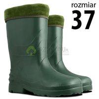 Kalosze EVA damskie zielone rozm.37, kolor zielony