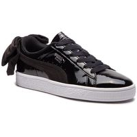 Sneakersy - bastek bow sb wn's 367353 01 puma black/puma black, Puma, 35.5-41