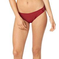 strój kąpielowy FOX - Throttle Maniac Lace Up Btm Dark Red (208), kolor czerwony