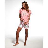 Piżama Cornette 340/140 Lovely Day/Lovly Day II kr/r różowy - różowy, kolor różowy