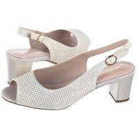 Sandały Sergio Leone Beżowe/Złote SK794 (SL278-b), w 2 rozmiarach