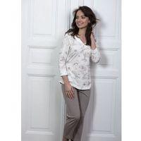 Piżama Cana 192 3/4 2XL 2XL, ecru-beżowy. Cana, 2XL, 5902406119247