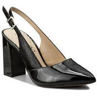 Sandały - 9-29604-20 black comb 019 marki Caprice