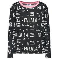 koszulka do spania 'alpine' różowy pudrowy / czarny / biały, Noisy may, XS-XL