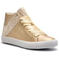 Guess Sneakersy - fjmrt3 ele12 or/flax gold