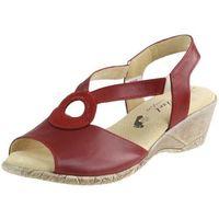 Sandały 2279 - czerwone marki Axel