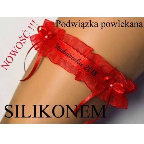Enjoy Podwiązka czerwona studniówka 2018 silikon