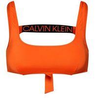 Calvin Klein Swimwear Góra bikini 'TIE BACK BRALETTE RP' ciemnopomarańczowy, góra