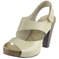 Nessi Sandały 42103 - beżowe 12