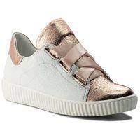 Sneakersy R.POLAŃSKI - 0918 Biały Kryształ Szampański