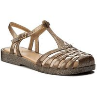 Sandały MELISSA - Aranha Quadrada Ad 31953 Brown/Silver Glitter 03679