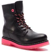 Botki - 1-25720-31 blk/neon pink 034, Tamaris, 36-41