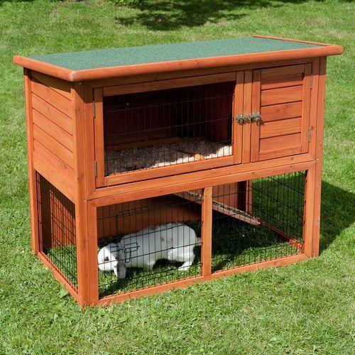 Gdzie kupić Zooplus exclusive Klatka dla królika outback kompakt z kojcem - dł. x szer. x wys.: 116 x 63 x 92 cm
