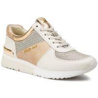 Sneakersy MICHAEL MICHAEL KORS - Allie Trainer 43S9ALFS4L Pale Gold, kolor żółty