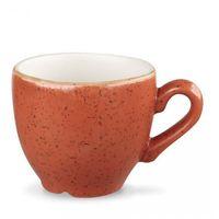 Churchill Filiżanka espresso 0,1 l, pomarańczowa | , stonecast spiced orange