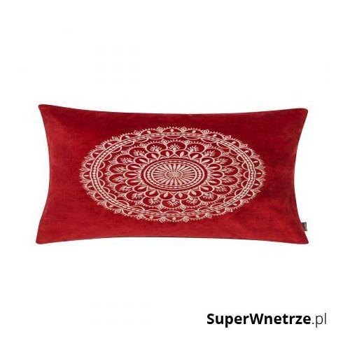 Gdzie kupić Poduszka 30x50cm preston velvet czerwona marki D2