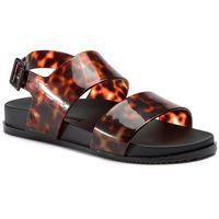 Sandały MELISSA - Cosmic Sandal III Ad 32495 Black/Tortoise 52812, kolor brązowy