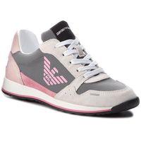 Sneakersy - xyx003 xoc01 d237 wht/l.grey/pnk/l.pnk, Emporio armani