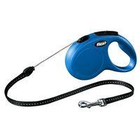 smycz automatyczna new classic m linka - 5m - do 20kg kolor: niebieski marki Flexi