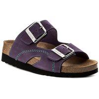 Klapki - moldava wedge ad f27131 2177 350 purple/mint marki Scholl