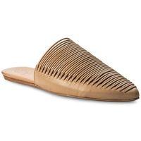 Klapki TORY BURCH - Sienna Flat Slide 47126 Natural Vachetta 267, kolor brązowy