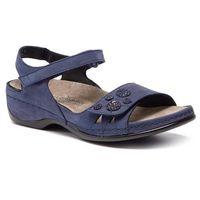 Sandały - charlotte 01026 blau marki Berkemann