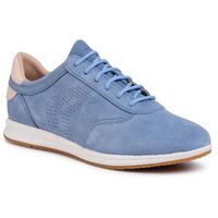 Sneakersy GEOX - D Avery C D02H5C 022AU C4ZA5 Lt Blue/Skin