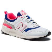 Sneakersy - cm997haj biały, New balance, 36-45.5