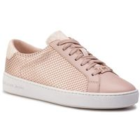 Sneakersy MICHAEL MICHAEL KORS - Irving Lace Up 43S9IRFS3D Sf Pk/Rs Gld, kolor różowy