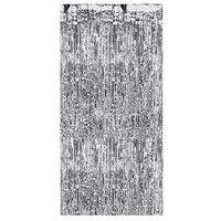 Ap Kurtyna - zasłona na drzwi metaliczna srebrna - 2,4 m x 91 cm (5901157453303)