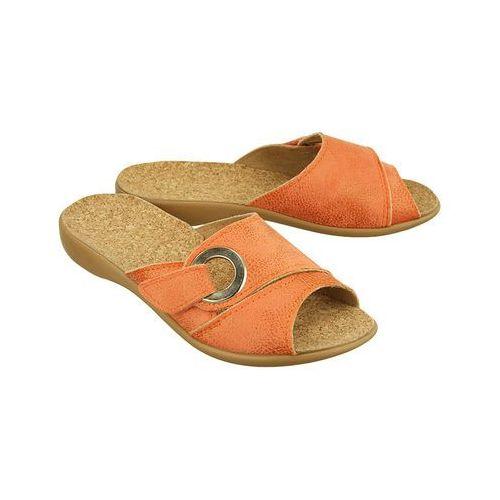 Befado 265d 006 pomarańczowy, kapcie klapki damskie - pomarańczowy