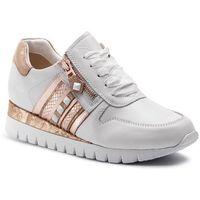 Sneakersy CAPRICE - 9-23701-22 White/Rosegold 118, kolor biały