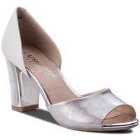 Sandały CAPRICE - 9-28316-20 White Multi 103, kolor szary