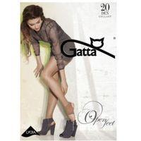Open feet - rajstopy damskie bez pięty i bez palcy marki Gatta