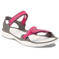 Sandały CROCS - Swiftwater Webbing Sandal W 204804 Paradise Pink/Smoke, w 4 rozmiarach