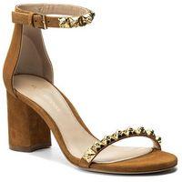 Sandały STUART WEITZMAN - 75Rosemarie XL17423 Caramel Luxe Suede, w 6 rozmiarach