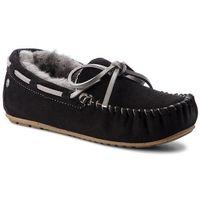 Kapcie - amity w10555 black/charcoal marki Emu australia