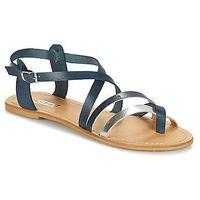 Sandały So Size SITAFI, 2103_PETROL_PLATA