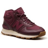 New balance Sneakersy - wh574bc bordowy