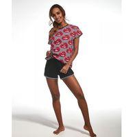 343/139 red lips piżama damska, Cornette