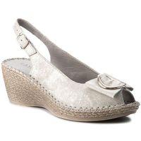 Sandały - wi21-luba-01 srebrny, Lasocki, 36-39