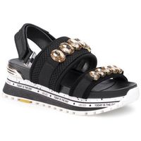 Sandały LIU JO - Wonder Maxi 06 BXX067 TX085 Black 22222