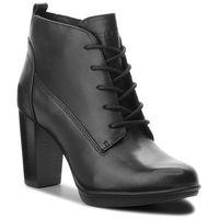 Botki - basic lace up heel b fw0fw03607 black 990, Tommy hilfiger, 36-40